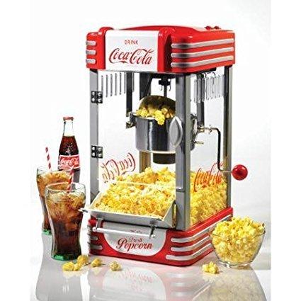 Nostalgia Electrics Coca-Cola Series Kettle Popcorn Maker, RKP630COKE by Supernon