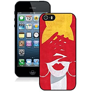 New Fashionable Designed For iPhone 5s Phone Case With High Heels Illustration Phone Case Cover