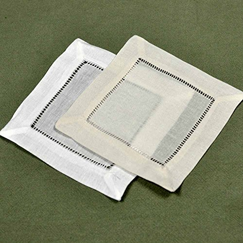 Small hem stitch cloth napkin.
