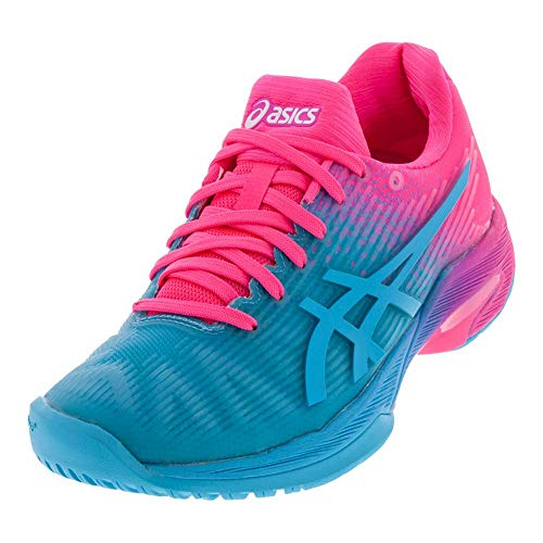 (ASICS Solution Speed FF Ltd Women's Tennis Shoe (Aquarium/Pink))