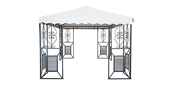 CRUCCOLINI Linea Jardín Friendly Carpa 4 x 4 de Hierro Forjado: Amazon.es: Jardín