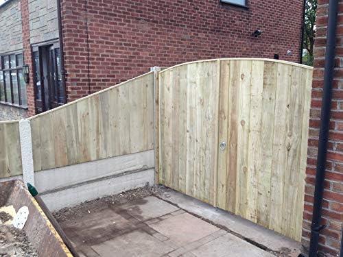 Puertas de entrada de madera maciza de lujo para jardín, hechas a ...