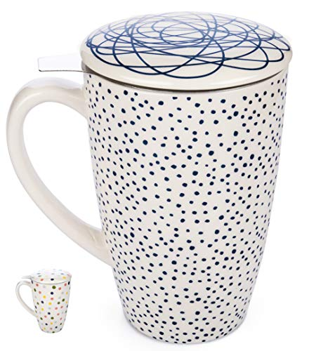 Infuser Loose Stainless Porcelain Birthday product image