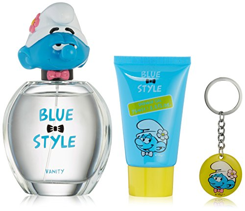 Gift Vanity Set - First American Brands The Smurfs Blue Style Vanity Gift Set, 3 Count