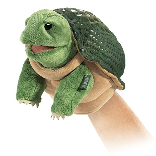 Folkmanis Little Turtle Hand Puppet by Folkmanis