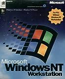 Microsoft Windows NT 4.0 Workstation (Full Retail Version 4.0 CD-ROM)