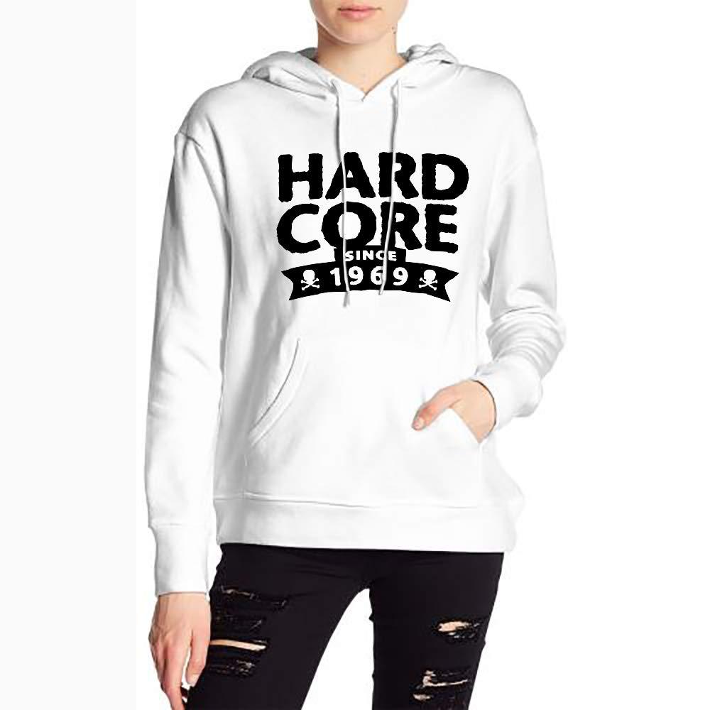 Women Hardcore Sinceirthday Classic Drawstring Sweatshirt