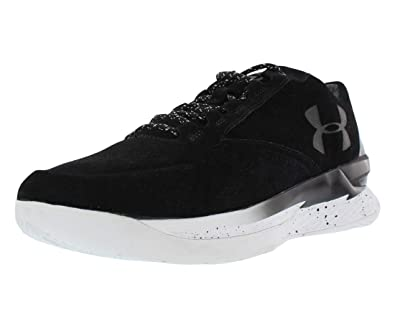 newest f26b6 328cf Under Armour Curry 1 Lux Low Black White