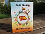 Learn Spanish Playing Cards. Learn 52 essential Spanish phrases while playing your favorite card game. Great for kids and travelers.