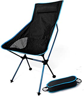 Chaise de Plage Pêche Pâturage Camping Ultralight Chaise Pliante Mobilier d'extérieur Oxford Tissu Max 150kg Moderne Moon Chair