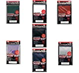 [ALL COLORS SET!!!!] 7x 560ct Packs KMC Hyper Matte (Red,Blue,Purple,Green,Clear,Black,White) Sleeves Fits Standard Size MTG, Magic, Pokemon etc... from Japan
