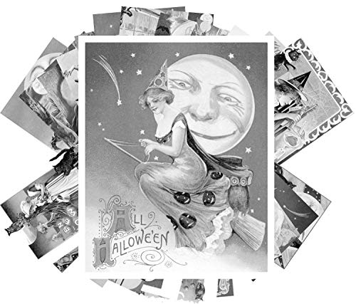 Coloring Grayscale Cards (24 Cards 4