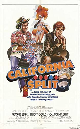 "Amazon.com: California Split POSTER (11"" x 17""): Posters & Prints"