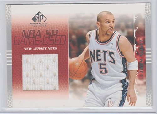 Jason Kidd 2003 Upper Deck SP Game Used Edition Game Used Jersey Card NJ (Game Used Jersey Cards)