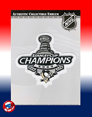 2009 STANLEY CUP CHAMPIONS PITTSBURGH PENGUINS JERSEY PATCH LA KINGS PATCH