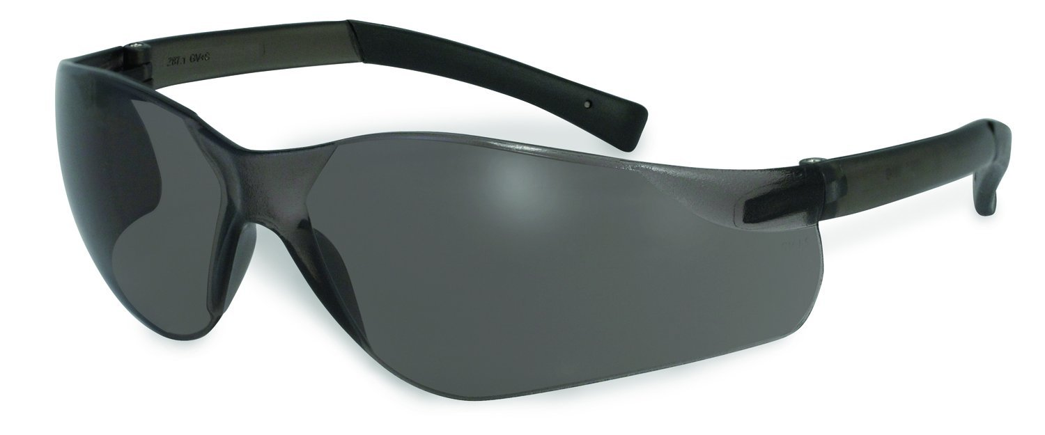 SSP Eyewear Safety Glasses with Smoked Anti-Fog Lenses/Rubber Temples, 12 Pack, TURBO SM A/F DZ