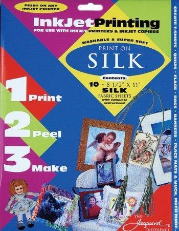 Alvin JAC9702 Silk F-inkjet 8.5x11 Sht 1o-pk