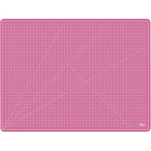 US Art Supply 36'' x 48'' PINK/BLUE Professional Self Healing 5-Ply Double Sided Durable Non-Slip PVC Cutting Mat Great for Scrapbooking, Quilting, Sewing and all Arts & Crafts Projects by US Art Supply