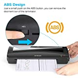JZBRAIN Laminating Machine, A4 Laminator Machine, 9 inches Thermal Laminator, Fast Warm-up, Quick Laminating Speed for Home Office School Use, Black