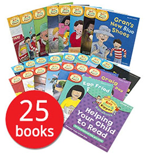 Read With Biff, Chip and Kipper (Levels 4-6) - 25 Books Box Set Oxford University Press (SLIPCASE)