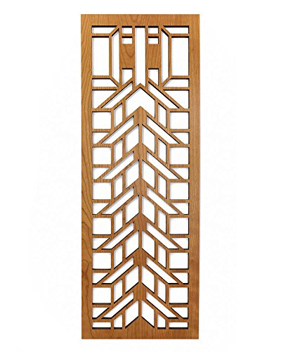 Frank Lloyd Wright Martin House Wood Art Screen Wall Element Cherry