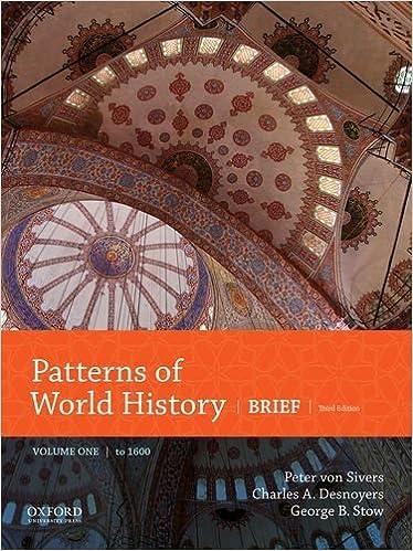Patterns Of World History,Brief.Ed.,V.1