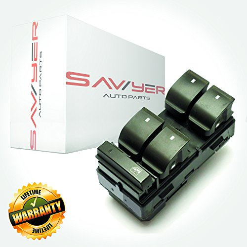 Sawyer Auto Power Window Switch Kit for GM Vehicles - Driver Side - OEM Quality
