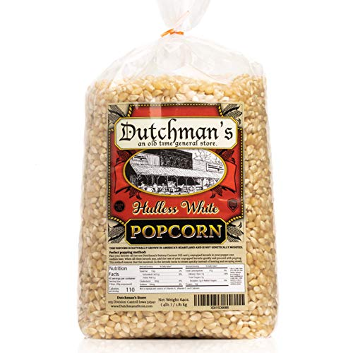Dutchman's White Hulless Popcorn
