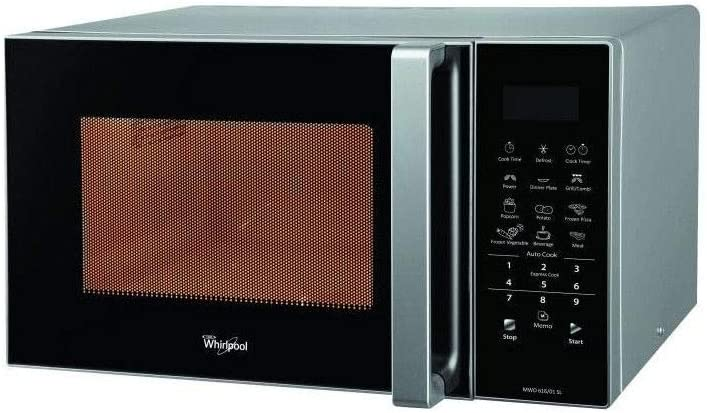 WHIRLPOOL MWO616/01 SIL - Micro-ondes grill silver - 25L - 900 W - Grill 1000 W - Pose libre