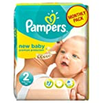 Pampers New Baby Size 2 (Mini) Monthl...