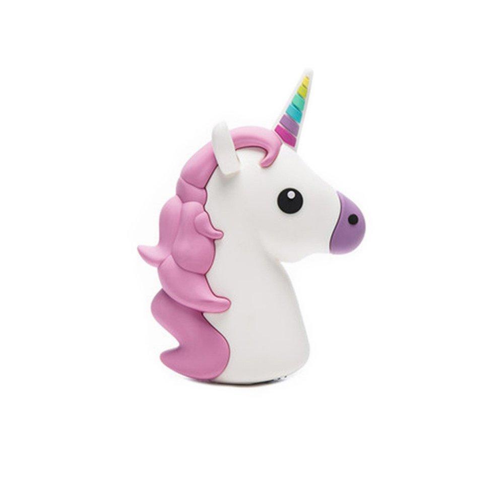 Nueva energía © Emoji unicornio blanco 2600 mAh USB Power ...
