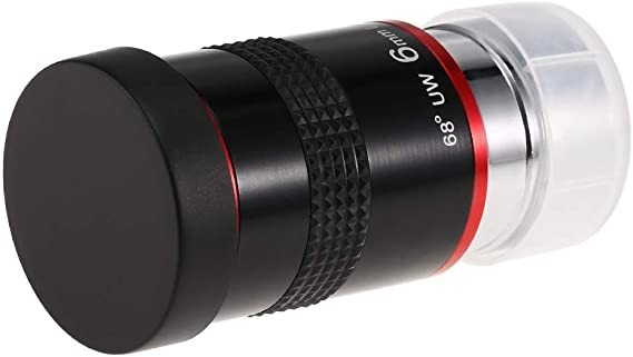9MM 20MM 15MM 1.25INCH 68 Degree Wide Angle Eyepiece Planetary Eye Lens Astronomical Telescope Eyepiece 6MM Walmeck