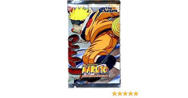 Amazon.com: Bandai Naruto Card Game Chosen Booster Pack ...