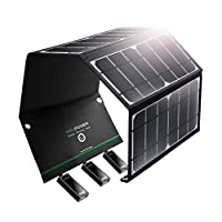 RAVPower Solar Charger 16W Solar Panel w...