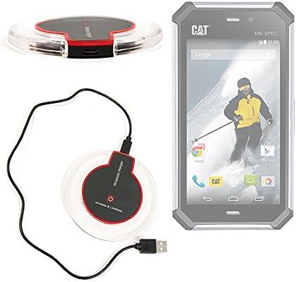 Cargador inalámbrico para Smartphone CAT Catphone S50-tecnología ...