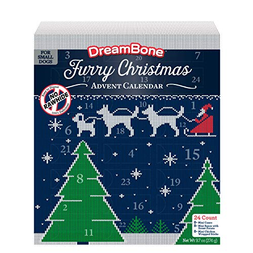 DreamBone Holiday Advent Calendar for Dogs Now $9.74