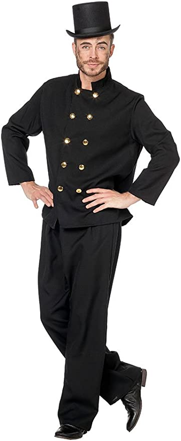 Disfraz hombre deshollinador, 50 - 60 Gr.: Amazon.es: Juguetes y ...