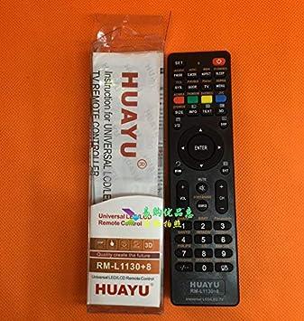 Calvas - Mando a Distancia Universal para televisor JVC SKYWORTH Akira AOC BBK ELENBREG Prima HAIER Supra Konia Thomson Daewoo TV: Amazon.es: Bricolaje y herramientas