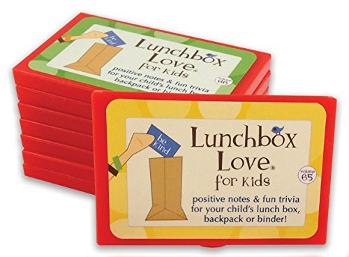 BEST SELLER: Lunchbox Love Notes for Kids by Say