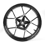 Artudatech Front Wheel Rim For BMW S1000RR 2009-2015 2010 2011 2012 2013 2014 Black