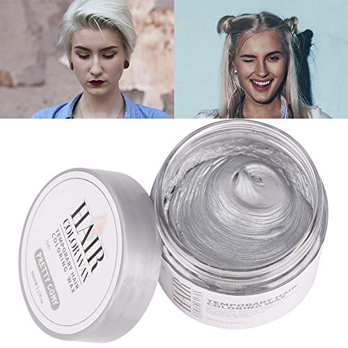 (Sizet 6 Colors DIY Washable Hair Color Wax Disposable Hair Dye Cream Party Use for Halloween)