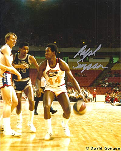 Ralph Simpson Autographed Signed Denver Nuggets ABA 8x10 Photo Dribble Silver - Certified Authentic ()