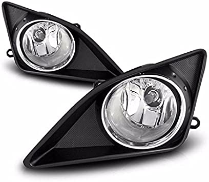 for 2005 2006 2007 2008 Toyota Corolla Clear Bumper Fog Lights Lamps Left+Right