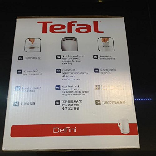 photo Wallpaper of Tefal-TEFAL Electric Kettle KO1501 1.5 Litre White By Thaidd-White