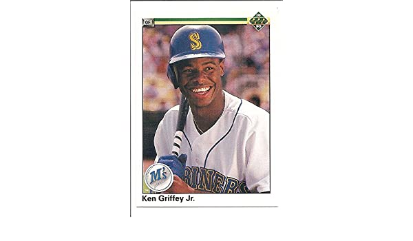 422fb5caa6 Ken Griffey Jr. Seattle Mariners 1990 Upper Deck Baseball Card #156 at  Amazon's Sports Collectibles Store