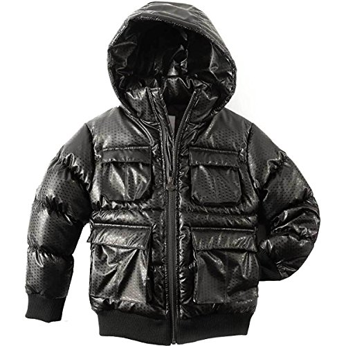 cae7957ab Appaman Gambit Puffer Coat - Boys  Black Diamond