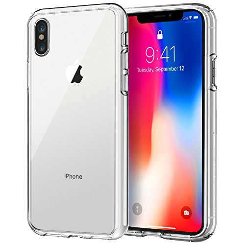 JETech Case for Apple iPhone X, Shock-Absorption Bumper Cover, HD Clear