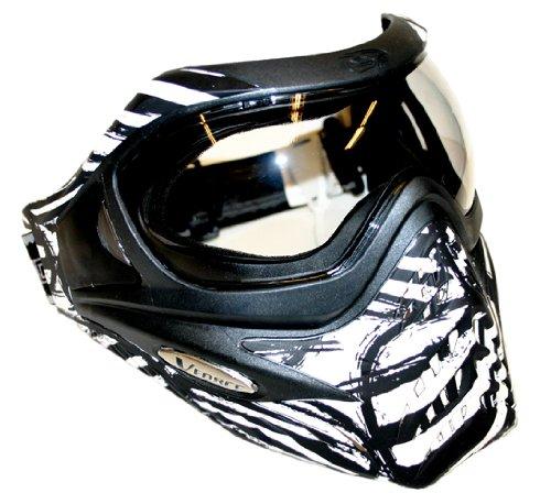 VFORCE DXS GRILL LTD Paintball Mask Goggle - White Zebra by VForce