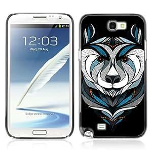 YOYOSHOP [Cool Bear Tattoo] Samsung Galaxy Note 2 Case