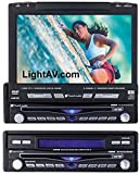 Planet Audio P900DVD DIN In-Dash 7-Inch LCD DVD Receiver with AUX Input